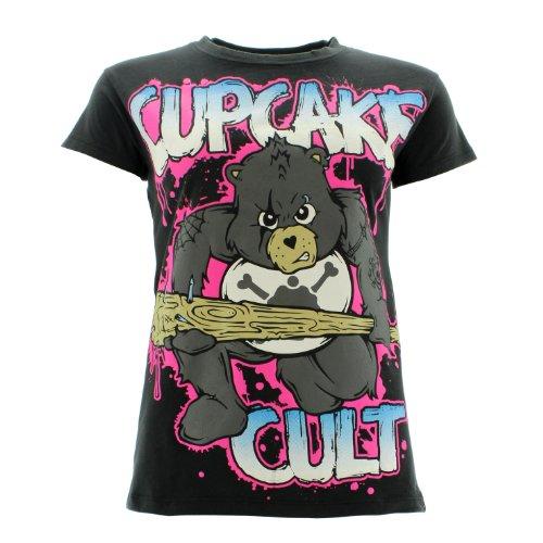 Cupcake Cult -  T-shirt - Donna nero 40/42