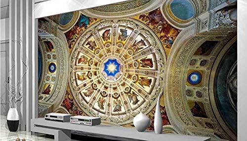Wolipos 3D Wandmalerei Wand-Aufkleber Tapete Wandtattoo Benutzerdefinierte Europäische Kreative Stereo Große Tv Hintergrund Malerei Hd Dekoration 150Cmx100Cm 5300 Stereo