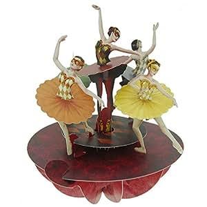 Carte Danseuses de Ballet Pop-up Pirouettes