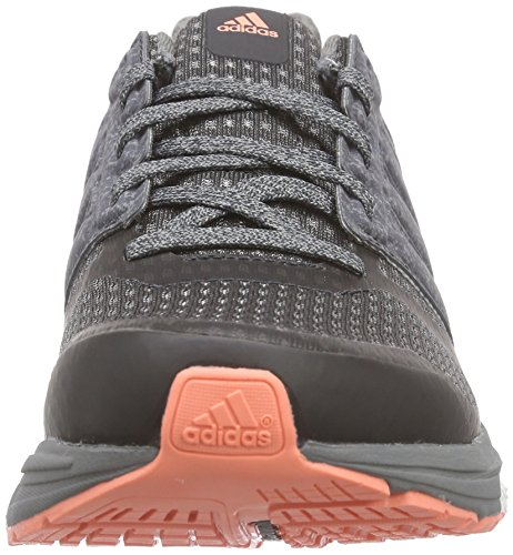 adidas Supernova Sequence Boost 8, Chaussures de Running Compétition Femme, Gris Grey / Rosa / noir (Grpudg / Grpuch / Brisol)