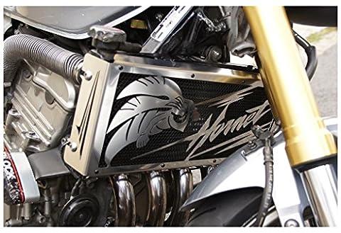 cache radiateur / grille de radiateur CB 600 F Hornet 2003>06 et CBF 900 Hornet 2002>06