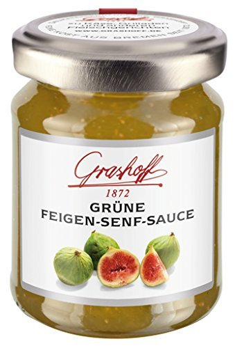 Grashoff - Grüne-Feigen-Senf-Sauce - 125ml