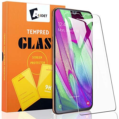 A-VIDET 2 Stück Schutzfolie für Samsung Galaxy A40 Vollschutz-mit Ultra-Stärke Ultra-klare Transparenz schutzfolie Bildschirmfolie für Samsung Galaxy A40