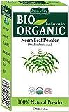 Bio 100% natürliches Neem Blattpulver mit Gratis Rezeptbuch 100g (Neem Leaf Powder)
