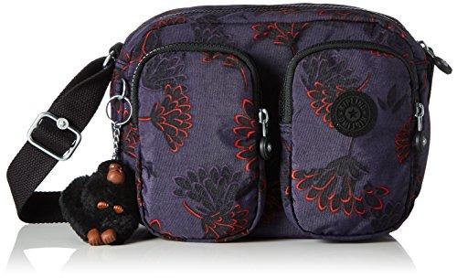 Kipling - Patti, Borse a tracolla Donna Multicolore (Floral Night)