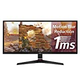 LG 29UM69G-B - Monitor para PC Desktop de 73,7 cm (29 pulgadas, UltraWide Full HD IPS, 2560 x 1080 pixeles, 5 ms, 1 ms con Motion Blur Reduction, 21:9, 250 cd/m2, AMD FreeSync), Negro