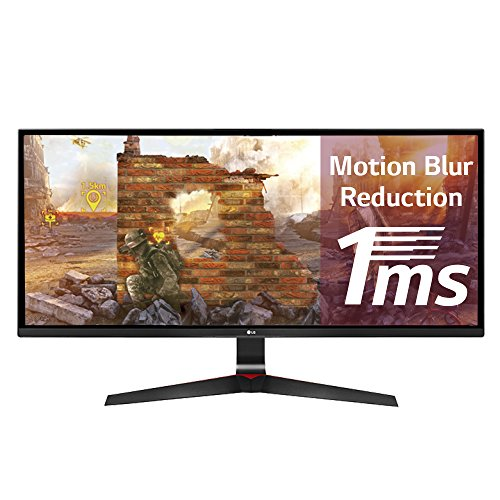 LG 29UM69G 29 inch 1ms 75Hz Ultrawide IPS Gaming Monitor (2560 x 1080, HDMI, DisplayPort, 250 cd/m2, AMD Freesync)