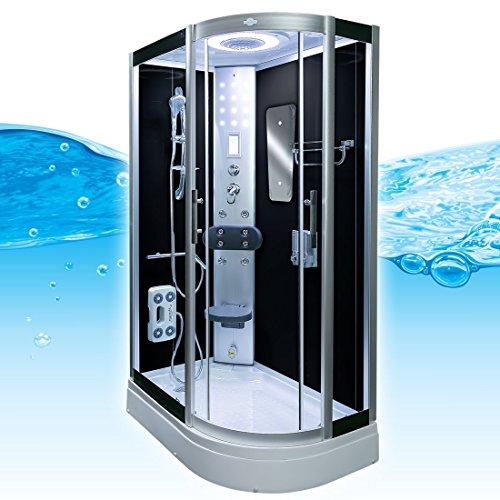 AcquaVapore DTP8060-7302R Dusche Dampfdusche Duschtempel Duschkabine 80x120, EasyClean Versiegelung der Scheiben:2K Scheiben Versiegelung +89.-EUR - 3