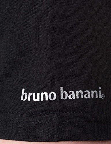 Bruno Banani, Vestaglia Uomo (pacco da 2) Nero (schwarz 7)