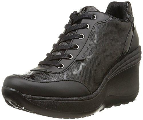 Calvin Klein Jeans - Jamie, Sneakers da donna, Nero (Nero (Blk)), 37