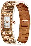 D&G Dolce&Gabbana Damen-Armbanduhr SHOUT 2 LOGOS LDY IPR FAKE PAVE' DIAL STONES BR DW0288