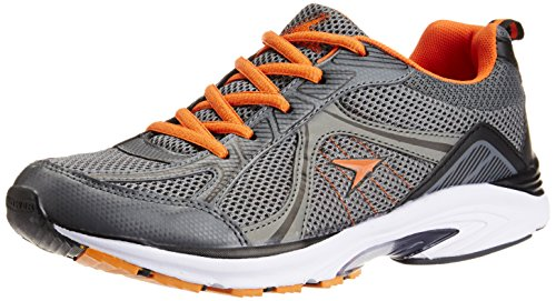 Power Men's Alpha Red, Pink and Orange Running Shoes - 8 UK (8085539)