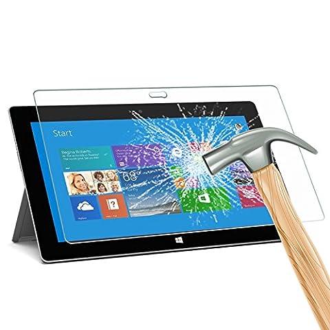 SURFACE PRO 2Glas Displayschutzfolie, rbeik Premium kratzfest gehärtetem Glas Displayschutzfolie für Microsoft Surface Pro 226,9cm/Surface Pro 1./Surface 2/Surface RT1/