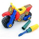 FomCcu Demontage Motorrad Montage Spielzeug für die Entwicklung Baby Kinder Montagekapazitäten Idee Geschenke