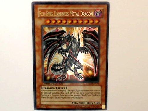 Yu-Gi-Oh! - Red-Eyes Darkness Metal Dragon (JUMP-EN030) - Shonen Jump Magazine Promos - Promo Edition - Ultra Rare by Yu-Gi-Oh! (Red Dragon Metal Eyes Darkness)