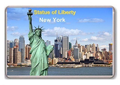 United States/New York/Statue of Liberty/fridge/magnet.! - Kühlschrankmagnet - Statue Of Liberty-new York