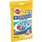Pedigree DentaStix Fresh Snacks für junge und kleine Hunde (4-10kg), 7 Stück, 5er Pack (5 x 110 g)