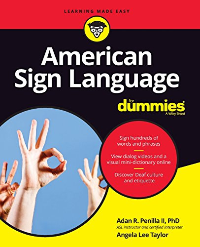 American Sign Language for Dummies + Videos Online por Adan R. Penilla