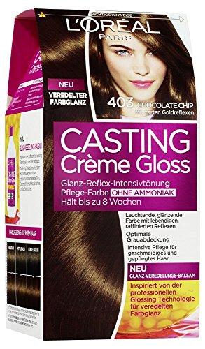 L'Oréal Paris Casting Crème Gloss Glanz-Reflex-Intensivtönung 403 in Chocolate Chip