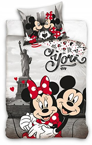 Funda Nordica Mickey Y Minnie Beso.Funda Nordica Mickey Y Minnie Lo Mejor De 2019