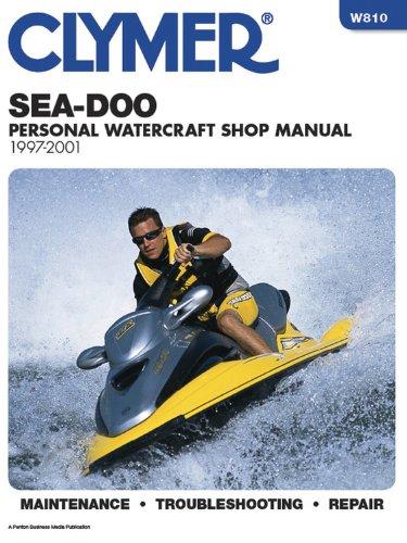 Sea-Doo Water Vehicles Shop Manual: (Sea Doo Jet Boat)