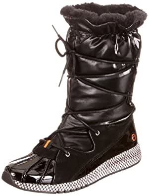 Rockport Women's Zana Duck Scrunch Boot Snow Boots Black