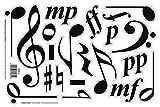 Chamberlain Musique wmn10Musique Symbole magnétique pour tableau blanc