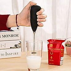 Shreeji Ethnic Milk Frother Handheld Battery Operated Electric Foam Maker Cla