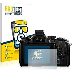 brotect Protection Ecran Verre Compatible avec Olympus Om-D E-M1 Film Protecteur Vitre 9H Anti-Rayures, AirGlass
