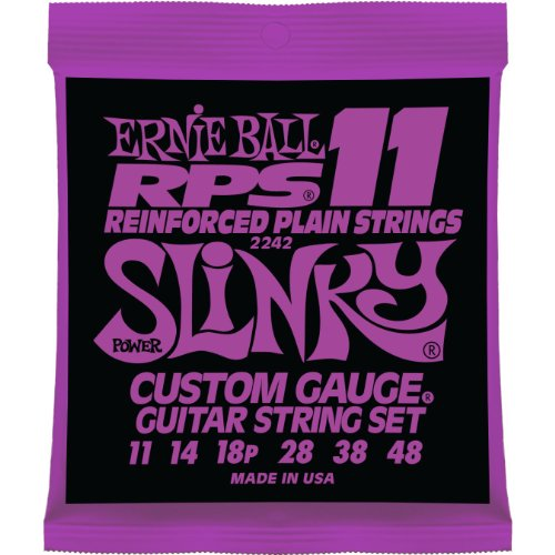 Ernie Ball RPS Reinforced Slinky Electric Guitar Strings11-48