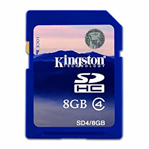 Canon Powershot A1300 8GB SD SDHC Kingston Memory Card Class 4 For Camera