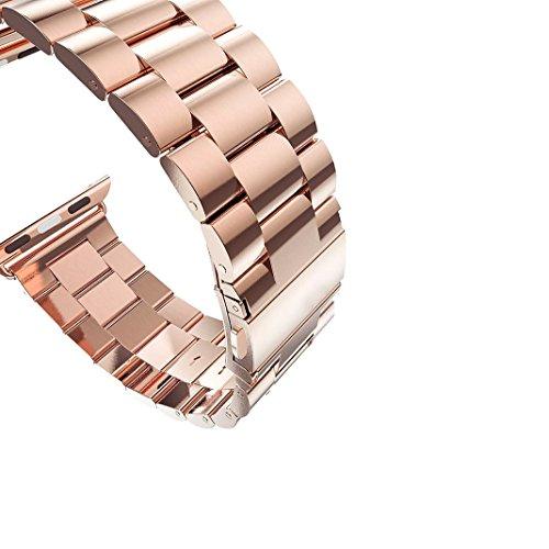 Rosa Schleife Pour Apple Watch Bracelet 42MM