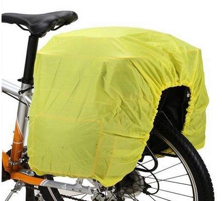 Fahrrad Abdeckung - fluoreszierende Hülle - dehnbar & flexibel - Cover Rad-Koffer / Rad-Tasche Abdeckung - Regenschutz Wasserschutz - besser gesehen werden - Sicherheit - Abdeckung Koffer Dehnbare