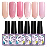 Sexy Mix UV Gel Nagellack rosa pink Nageldesign Maniküre gellack (6pcs×9ml)