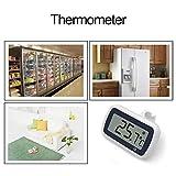 Cracklight Thermomètre numérique électronique Mini réfrigérateur cryogénique Chambre Froide Alarme de température Fixe Thermostat étanche