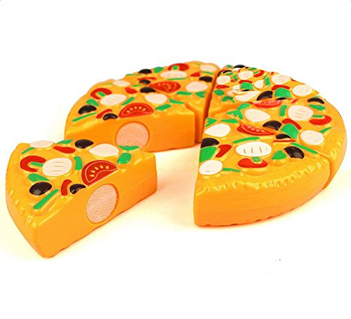 Atommy Juguetes de cocina para niños food pizza set de 6 juguetes de cocina para niños