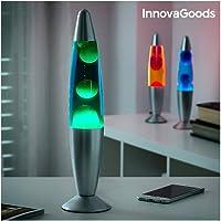 InnovaGoods Magma Lampe à lave bleu