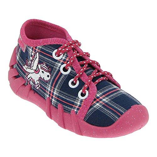 GALLUX - Mädchenschuhe Hausschuhe Mädchen Freizeit Sneaker Rosa/Blau