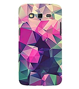 Abstract Multi Dimensional Pattern 3D Hard Polycarbonate Designer Back Case Cover for Samsung Galaxy Grand I9082 :: Samsung Galaxy Grand Z I9082Z