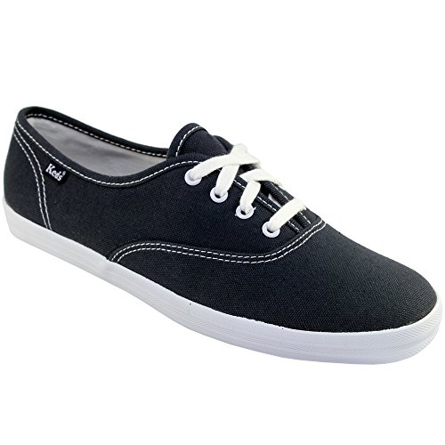 womens-original-keds-canvas-lace-up-flat-trainers-new-ladies-3-8