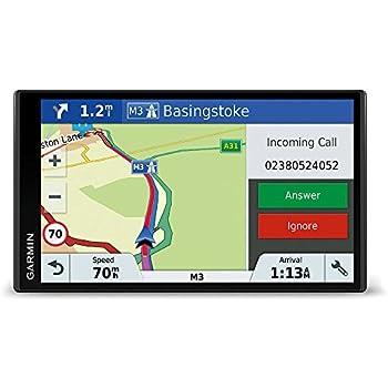 """Garmin DriveSmart 61 Full EU LMT-D - Navegador GPS con mapas de por vida y tráfico digital (pantalla de 6"""", mapa Europa completo)"""