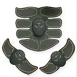 BABY Stimolatore Muscolare, EMS ABS Trainer USB Ricaricabile per Cintura Addominale e 8 modalità per Uomini e Donne