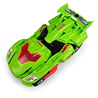 eamqrkt Deformation LED Car Kids Dinosaur Toys Play Vehicles with Light Flashing Music