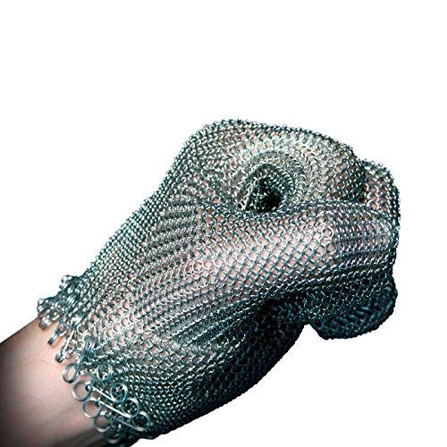 Kettenhandschuh Stechschutzhandschuh RAPTOR ohne Stulpe Größe M
