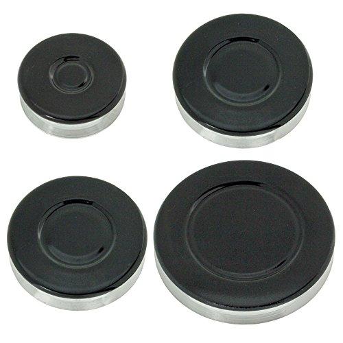 Spares2go grabadora de Gas diseño de corona de fuego gorra para hornos...