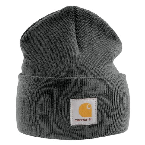 Carhartt Acrylic Watch Cap - Grau Strickmütze Hüte Beanie Mütze Männer Kappe CHA18CLH-Universal -