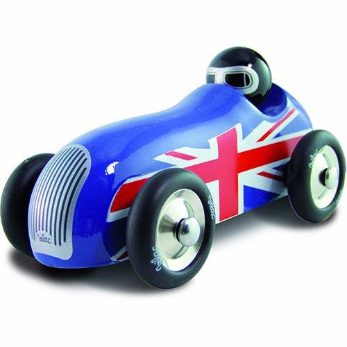 Vilac vilac2286b blau Union Jack Old Sport Auto (Jacks Motoren Kleine)