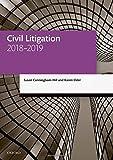 Civil Litigation 2018-2019 (Legal Practice Course Manuals)