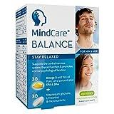 MindCare BALANCE, suplemento de apoyo para el estrés - aceite de pescado salvaje omega-3, magnesio, L-teanina y multivitaminas para el sistema nervioso; la fórmula de cápsula dual ayuda a las personas a mantenerse relajadas, ofrece alivio del estrés y la ansiedad, 60 cápsulas