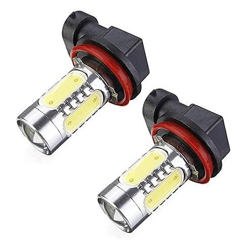 ampoule a Xenon - TOOGOO(R) 2x Blanc Xenon H11 Haute